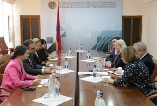 Տիգրան Խաչատրյանն ընդունել է Հայաստանում Միացյալ Թագավորության վարչապետի առևտրի և ներդրումների հարցերով հանձնակատարին