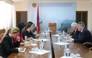 Քննարկվել են հայ-իռլանդական երկկողմ հարաբերությունների օրակարգի ձևավորման հարցեր