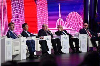 Ամեն բան սկսվում է տեսլականից. Նախագահը Ղազախստանում ելույթ է ունեցել տնտեսական ֆորումի բացմանը