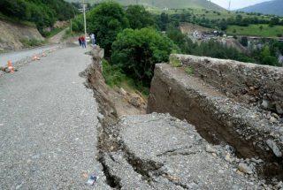 Մ-6 միջպետական ավտոճանապարհի սողանքները կանխարգելելու համար ԱԻՆ-ին հատկացվեց 9 մլն 528 հազար դրամ