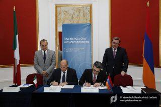 Հայաստանի և Իտալիայի հարկային ծառայությունները համագործակցելու են` ոլորտային բարեփոխումների շրջանակում