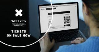 WCIT 2019-ի տոմսերն հասանելի են առցանց