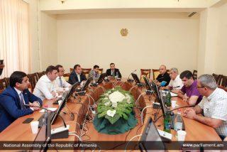 ՀՀ ԱԺ տնտեսական հարցերի մշտական հանձնաժողովի անդամները հանդիպել են «Գուդվին Բետ»-ի պատասխանատուների հետ