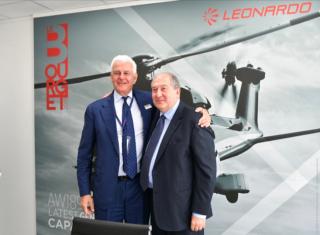 Նախագահ Արմեն Սարգսյանն իտալական հայտնի «Լեոնարդո» ընկերության ղեկավարների հետ քննարկել է ՏՏ ոլորտում համագործակցության հնարավորությունները