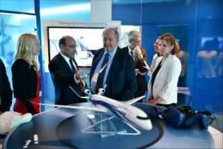 Ֆրանսիական «Դասո սիստեմս» ընկերությունը Հայաստանի հետ համագործակցության առաջարկներ է ներկայացրել նախագահ Արմեն Սարգսյանին