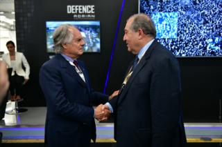 Հայաստանի և Իտալիայի միջև բարեկամությունը շատ ամուր է և ցանկանում ենք այն էլ ավելի ամրապնդել. Հայաստանի նախագահը հանդիպել է «Elettronica Group»-ի տնօրենի հետ