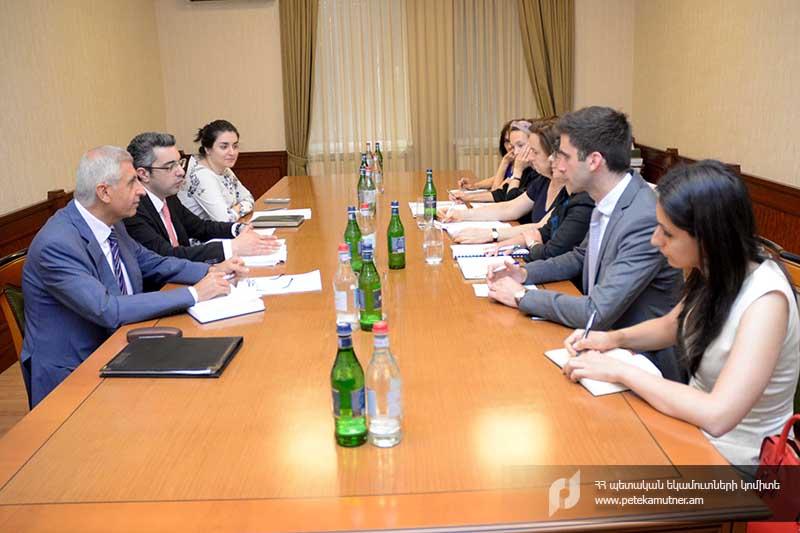 ՊԵԿ-ի և Զարգացման ֆրանսիական գործակալության միջև քննարկվել են գործակցության հարցեր