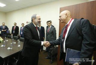 Սանկտ Պետերբուրգում քննարկվել են բարձր տեխնոլոգիաների ոլորտում Հայաստանի և Իսրայելի միջև համագործակցության զարգացման հեռանկարները