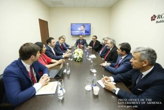 «Յանդեքս»-ի ղեկավարները վարչապետին են ներկայացրել Հայաստանում նոր նախագծեր իրականացնելու ծրագրերը