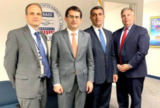 Հակոբ Արշակյանը հանդիպում է ունեցել USAID-ում