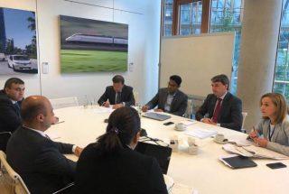 Բագրատ Բադալյանը ԵՆԲ ներկայացուցիչների հետ քննարկել է բանկի ֆինանսավորմամբ Հայաստանում իրականացվող ենթակառուցվածքային ծրագրերը