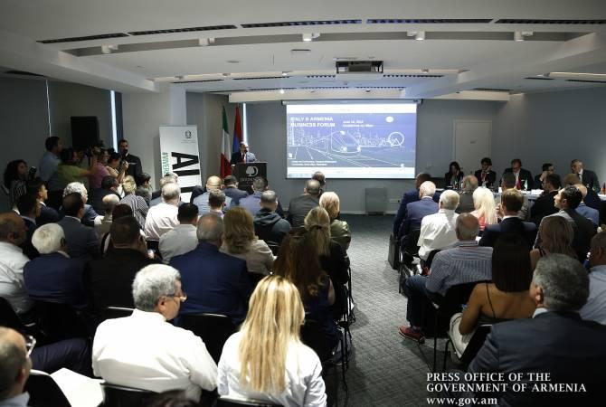 Երևանում անցկացվում է հայ-իտալական գործարար համաժողով