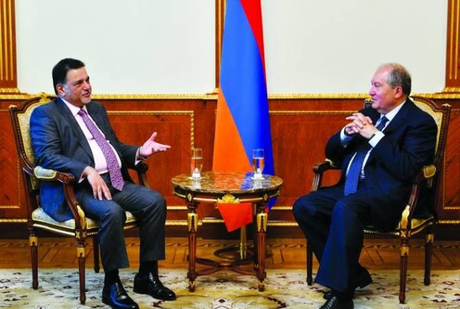 Կատարի գործարարները ՀՀ նախագահի հրավերով կուսումնասիրեն Հայաստանի ներդրումային հնարավորությունները