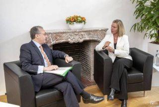 Զոհրաբ Մնացականյանը Մոգերինիի հետ հանդիպմանն ընդգծել է ԵՄ մուտքի արտոնագրերի ազատականացման շուրջ երկխոսություն ծավալելու կարևորությունը
