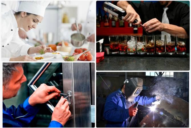 Խոհարար, բարմեն, փականագործ, եռակցող. Զբաղվածության գործակալությունն առանձնացրել է պահանջված մասնագիտություններն ու աշխատատեղերի չլրացման պատճառները