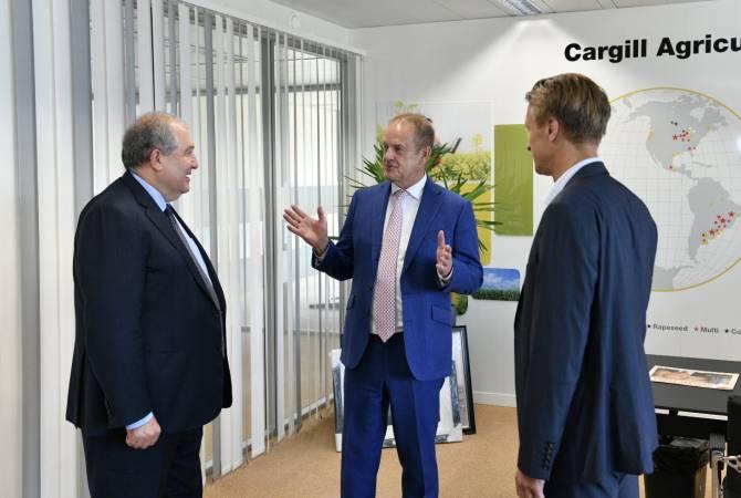 Ներդրողներն ուղղորդվում են դեպի Հայաստան. նախագահ Սարգսյանը հանդիպել է աշխարհի խոշորագույն սննդարտադրողներից մեկի ղեկավարության հետ