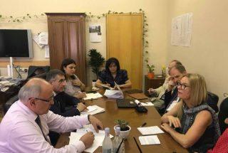Վաչե Տերտերյանը Համաշխարհային բանկի ներկայացուցիչների հետ քննարկել է ոռոգման համակարգի արդիականացմանն առնչվող հարցեր