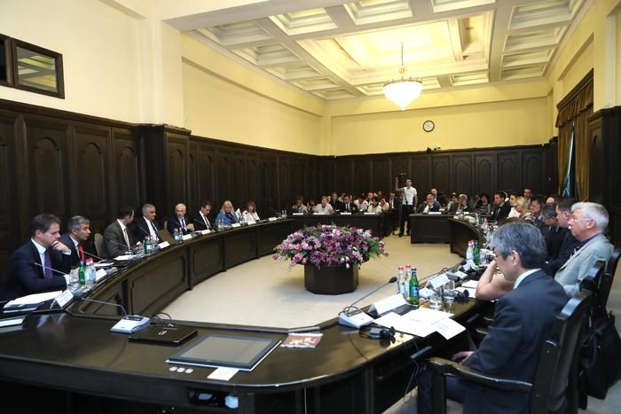 Կառավարությունում կայացել է Հայաստանի զարգացմանն աջակցող գործընկերների հետ համագործակցության համակարգման հարթակի շրջանակներում հերթական քննարկումը