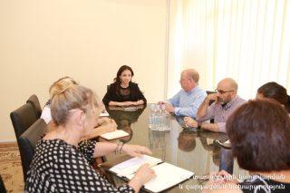 Լիլիա Շուշանյանն ընդունել է SRK Consulting ընկերության փորձագիտական խմբին. ընկերությունը հետազոտություն է իրականացնում Հայաստանում