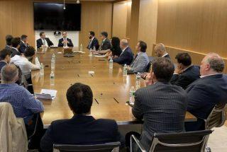 Տիգրան Ավինյանը Նյու Յորքում հանդիպել է «Հայերը բանկային և ֆինանսական ոլորտներում» ցանցի անդամներին