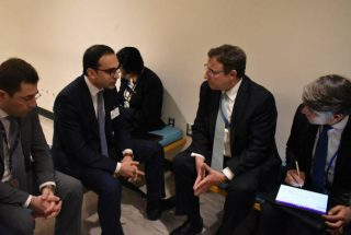 Փոխվարչապետ Ավինյանը ՄԱԿ-ի զարգացման ծրագրի կառավարչին հրավիրել է մասնակցելու «WCIT 2019» ՏՏ համաժողովին