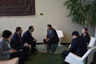 Տիգրան Ավինյանը Ղրղզստանի փոխվարչապետ Զամիրբեկ Ասկարովի հետ քննարկել է հայ-ղրղզական միասնական էներգետիկ շուկայի ձևավորման ներուժը