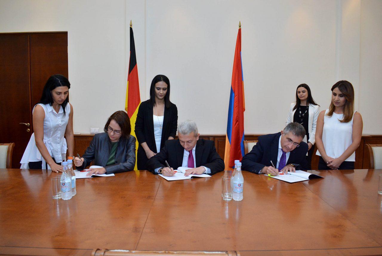 Ֆինանսների նախարարություն. Ստորագրվել են դրամաշնորհային համաձայնագրեր ՀՀ և ՎՎԲ միջև
