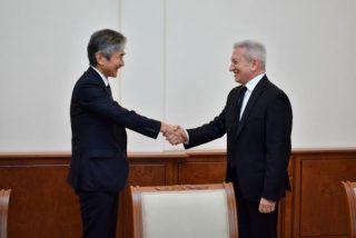 Ատոմ Ջանջուղազյանն ընդունել է ՀՀ-ում Ճապոնիայի արտակարգ և լիազոր դեսպան Ջուն Յամադային