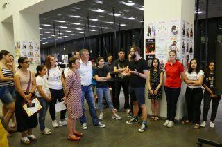 Beeline. Թումոյի  համատեղ նախագծի մասնակիցների աշխատանքները ներկայացվեցին ցուցահանդեսի շրջանակում