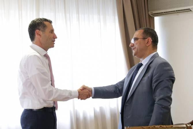 Հայաստանում ՄԱԿ-ի Պարենի և գյուղատնտեսության կազմակերպության ներկայացուցչին