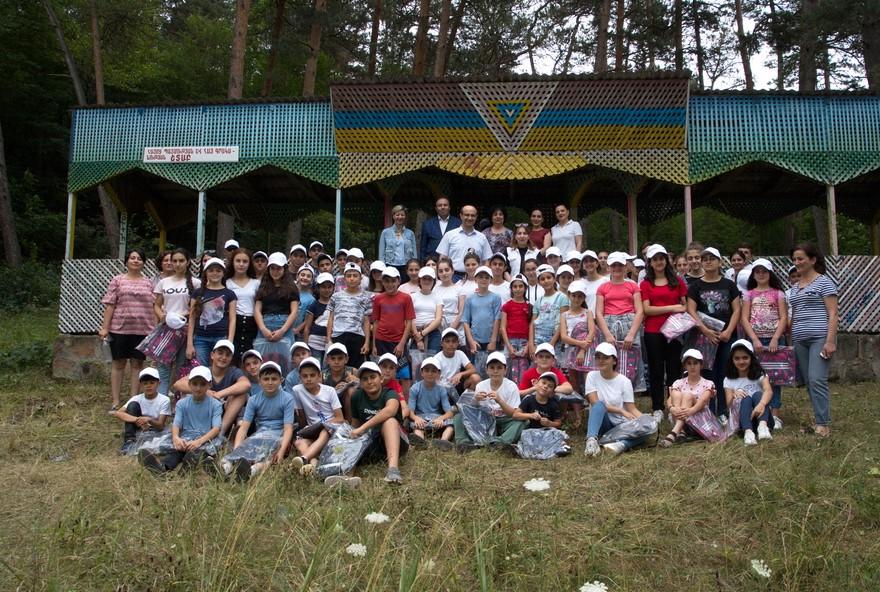 Արցախի երեխաների ամառային հանգստի կազմակերպում Հայաստանի բանկերի միության նախաձեռնությամբ