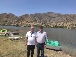 Արայիկ Հարությունյանը Հրանտ Բագրատյանին է ներկայացրել Սարսանգի ջրերը Թարթառ գետի աջափնյա հատված տեղափոխելու խոշորածավալ ծրագիրը