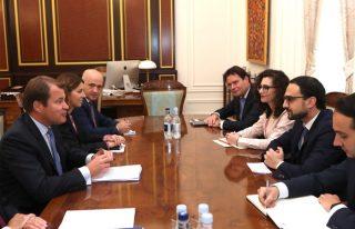 Փոխվարչապետ Տիգրան Ավինյանն ընդունել է ՎԶԵԲ առաջին փոխնախագահին