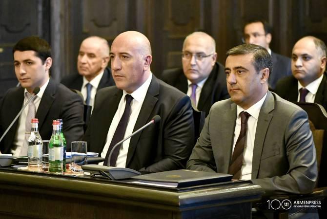 Վարչապետն ԱԱԾ տնօրենի և Ոստիկանապետի ժամանակավոր պաշտոնակատարներ է նշանակել