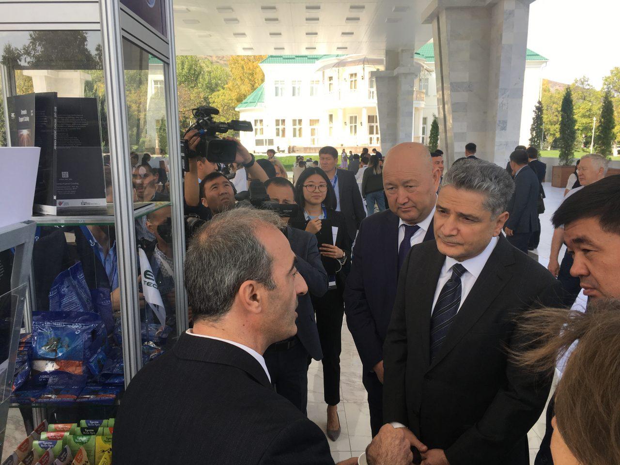 Հայկական գյուղատնտեսական սթարթափները մասնակցում են «Եվրասիական շաբաթ» համաժողովի շրջանակներում կազմակերպված ցուցահանդեսին