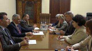 Փոխվարչապետ Մհեր Գրիգորյանն ընդունել է Համաշխարհային բանկի տարածաշրջանային տնօրենին