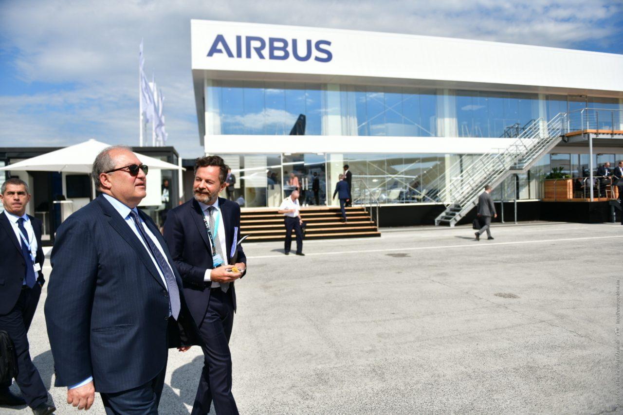 Նախագահ Արմեն Սարգսյանի հրավերով աշխարհահռչակ «Airbus»-ի բարձրաստիճան պատվիրակությունը կժամանի Հայաստան