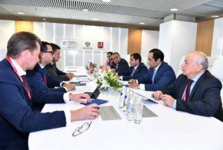 Սուրեն Պապիկյանը Մոսկվայում հանդիպում է ունեցել ՌԴ էներգետիկայի նախարար Ալեքսանդր Նովակի հետ