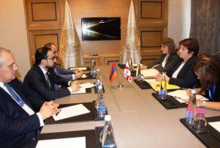 ՀՀ ու Վրաստանի փոխվարչապետները քննարկել են ենթակառուցվածքների զարգացման հարցեր