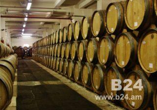 2019թ. հունվար-օգոստոսին Հայաստանում կոնյակի արտադրությունն աճել է 44.5%-ով