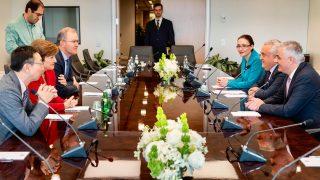 Արթուր Ջավադյանը հանդիպել են Արժույթի միջազգային հիմնադրամի գործադիր տնօրեն Կրիստալինա Գեորգիևայի հետ