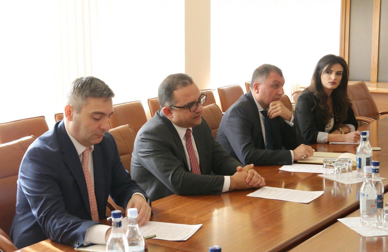 Տիգրան Խաչատրյանն ընդունել է ՌԴ Պետական գույքի կառավարման դաշնային գործակալության ղեկավարին
