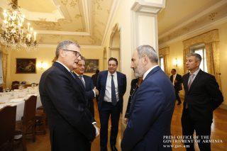 Փաշինյանը Իտալիայի գործարար շրջանակներին է ներկայացրել Հայաստանի ներդրումային հնարավորությունները