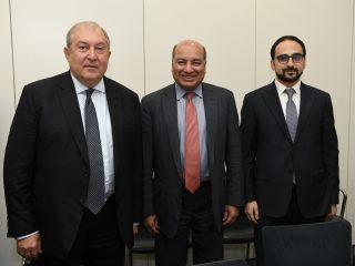 Արմեն Սարգսյանը վերահաստատել է 2021 թ. ՎԶԵԲ տարեկան ժողովը հյուրընկալելու Հայաստանի առաջարկությունը