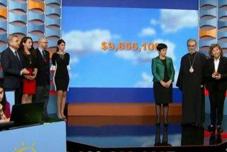 Հայաստան համահայկական հիմնադրամի հեռուստամարաթոնի շրջանակում հանգանակվել է 9.86 մլն դոլար