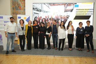 Կայացավ ԵՄ «Աջակցություն ՓՄՁ զարգացմանը Հայաստանում» (EU-SMEDA) ծրագրի պաշտոնական փակման միջոցառումը