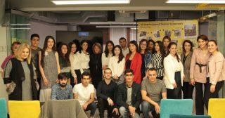 Beeline. Հերթական 21 ուսանողները ներկայացրեցին իրենց առաջին աշխատանքային փորձը