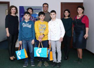 Ռոստելեկոմ. Հայկ Ֆարամազյանը հաջողություն մաղթեց ռոբոտների համաշխարհային օլիմպիադայի միջազգային փուլին մեկնող պատանիներին