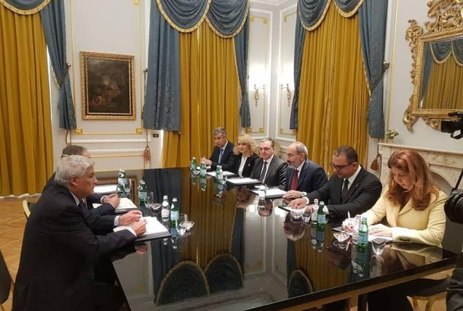 Փաշինյանը հայ-իտալական տնտեսական կապերը խորացնելու լավ հիմք է տեսնում. հանդիպում ICE-ի նախագահի հետ