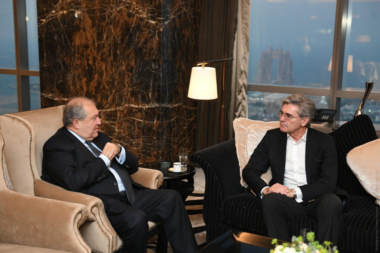 Սիմենսը կուսումնասիրի Հայաստանի հետ համգործակցության հնարավորությունները